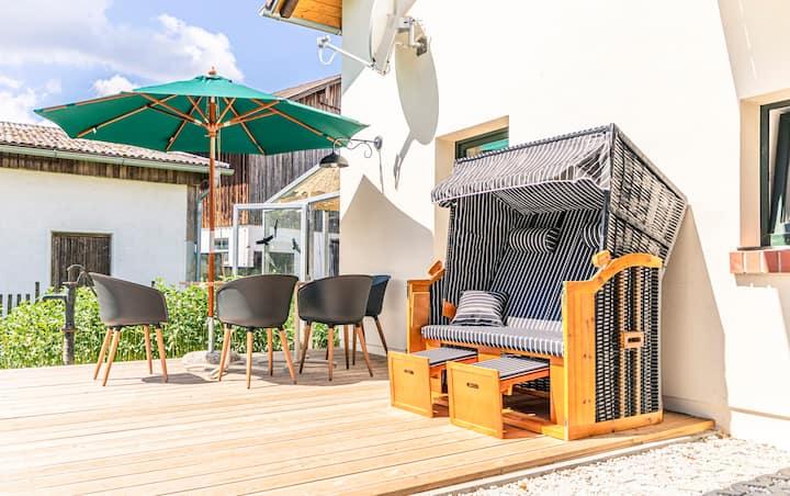 Barrierearme Wohnung am Biobauernhof mit Stil