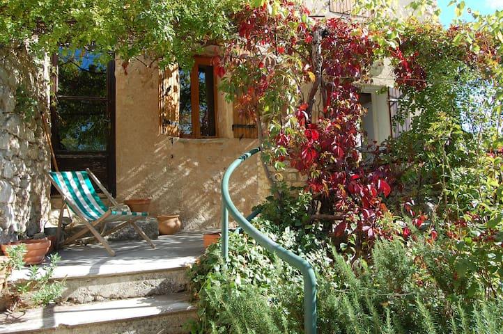 Charming Provençal village home  - La Roque-Alric, Vaucluse