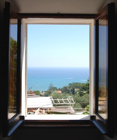 Loft with wonderful over the sea. - San Felice Circeo - Apartament