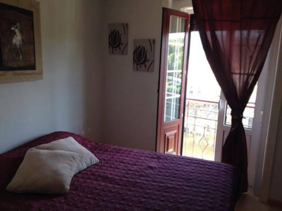 o quarto com localização privilegiada