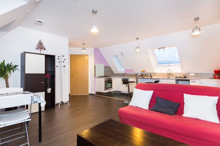 Logement moderne & très calme + parking gratuit - Colmar - Lägenhet