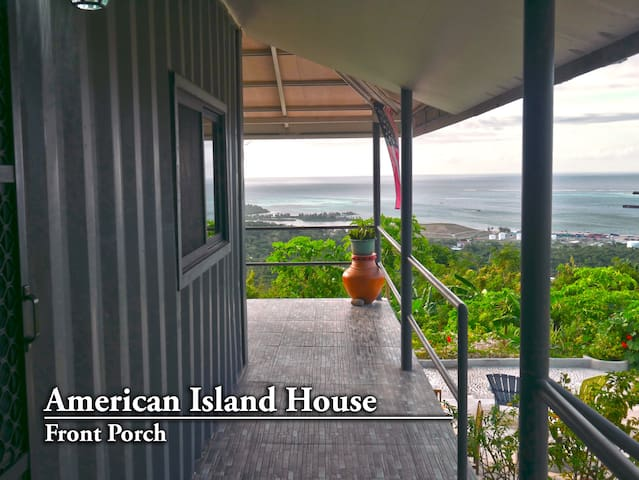 Welcome to your American island home!