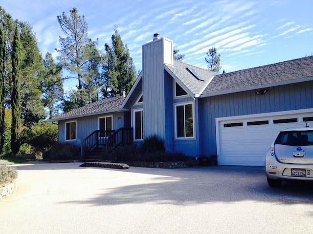 Solar Mountain Home in Bonny Doon - Santa Cruz - Rumah