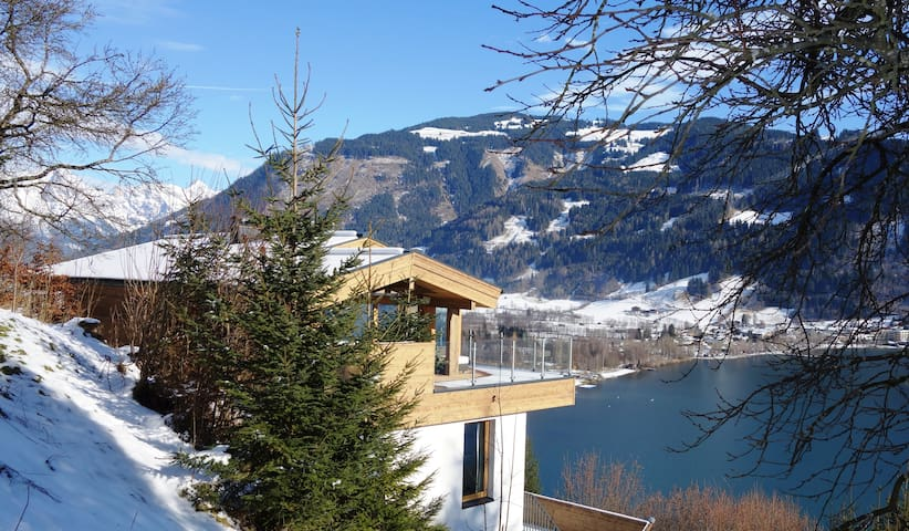 privé designer chalet 4 bedrooms - Zell am See - Almhütte