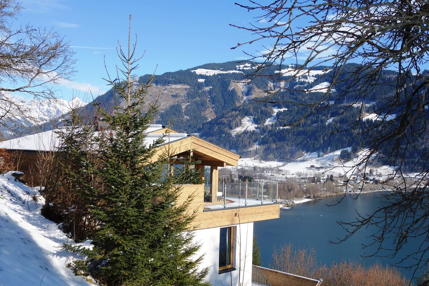 Your dream get away on top of Zell am see