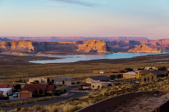 Watch sunsets reflect off the canyon walls.