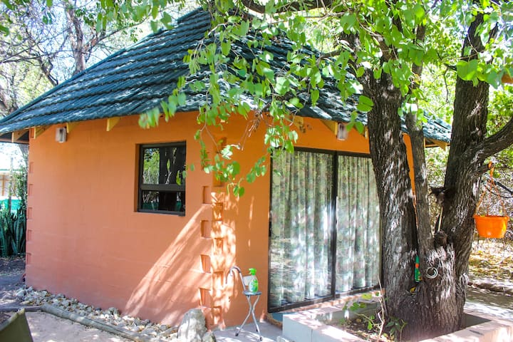 Our 1 bedroom chalet: Your private get-away