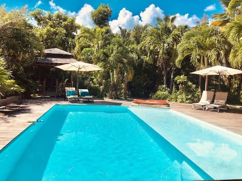 """la Palme Lodge  and Spa, studioTropicale """
