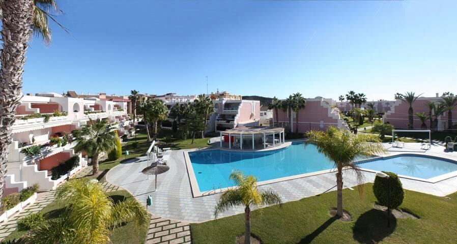 Apartment at 1st beach line in residential complex - Puerto de Mazarrón - Appartement