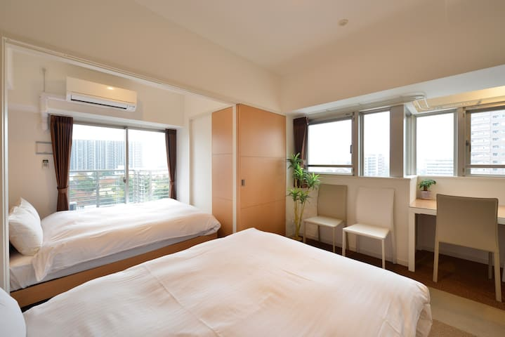 RH8-03)Weekly★Double Bedroom in hakata