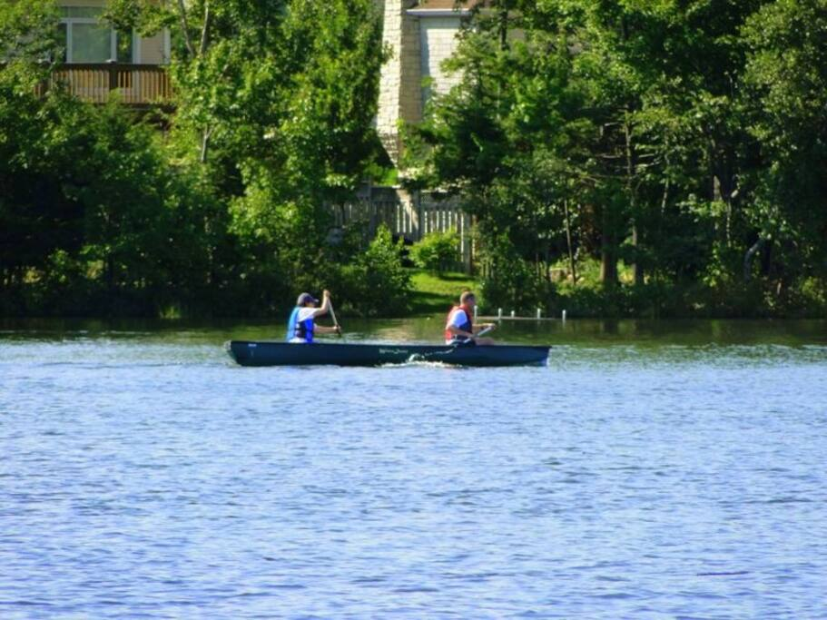 Canoeing and kayaking casually or from either of the '4' rowing clubs on neighboring Lake Banook!