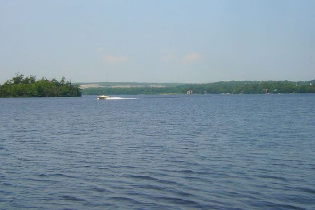 Or power boats, seadoos, water skiing .......