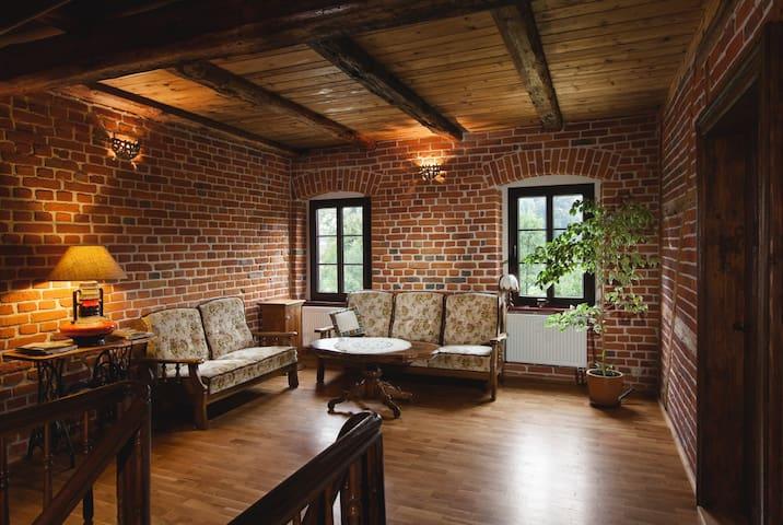 Agrohippika B&B - rustic farmhouse - Kondratów - Casa