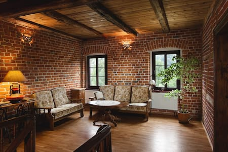 Agrohippika B&B - rustic farmhouse - Kondratów - Huis