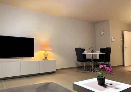 Moderne appartement aan zee