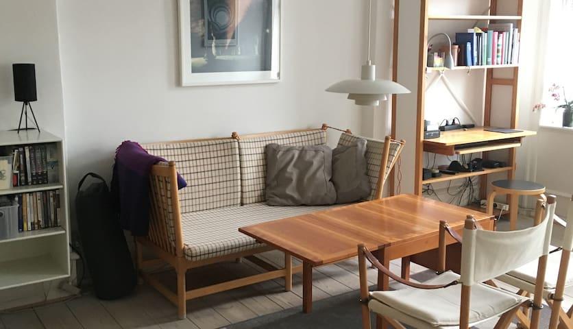 Sunny apartment in central Copenhagen