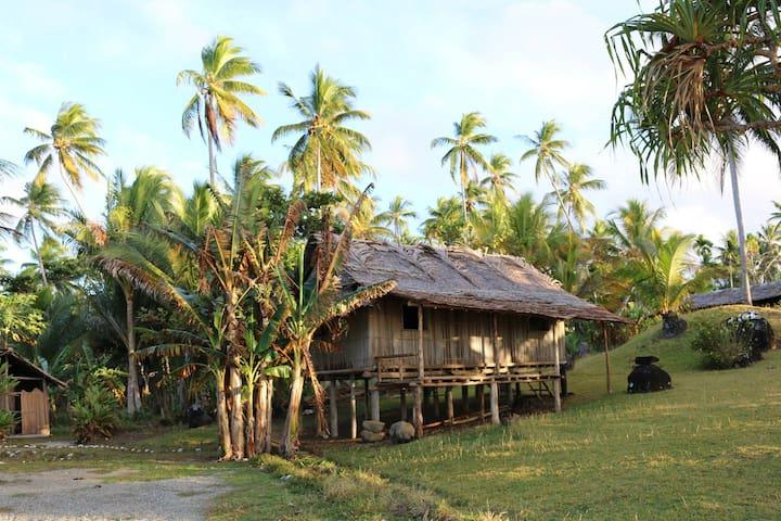 Village Stay in Papua New Guinea! - Tufi - Hut