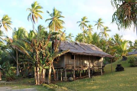 Village Stay in Papua New Guinea! - Hütte