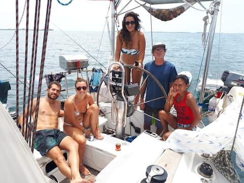 San Blas en velero, Guna Yala, Panamá 89€