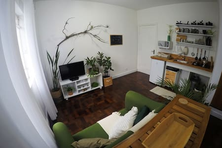 Loft 11B - Uma Urban Jungle no Centro!