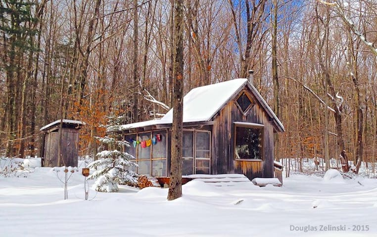 The Hermit's Hut loves winter!