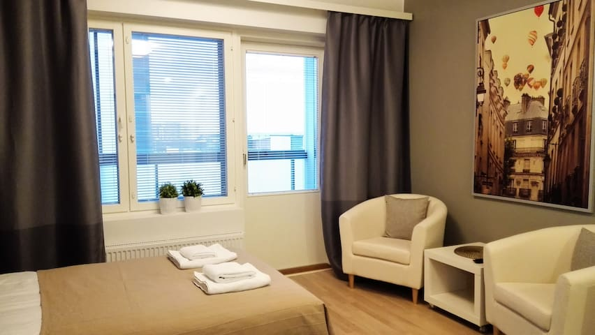 New studio in the city center
