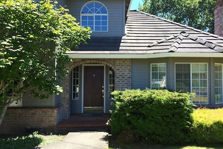Garden Twin in Lovely Home, near Jones Farm Intel - Hillsboro - Hus