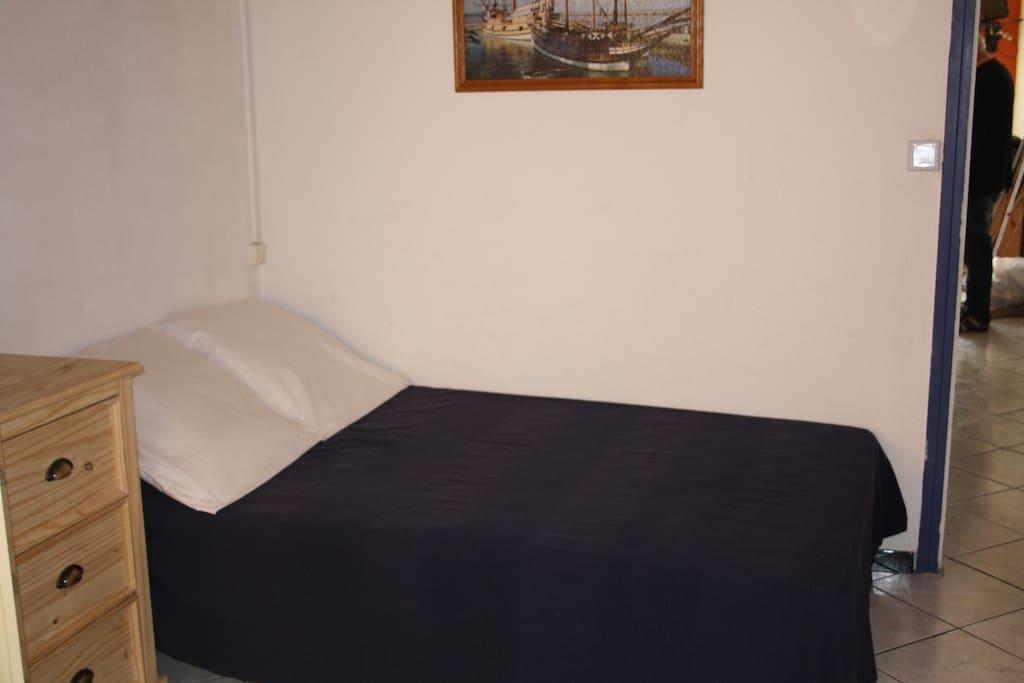 Photo du lit en 120