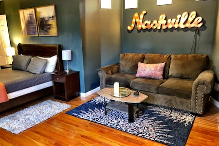 West Nashville studio apartment