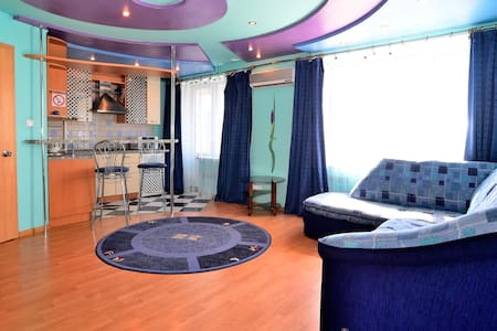 Sunny and very stylish apartment.  - Donetsk - Appartement