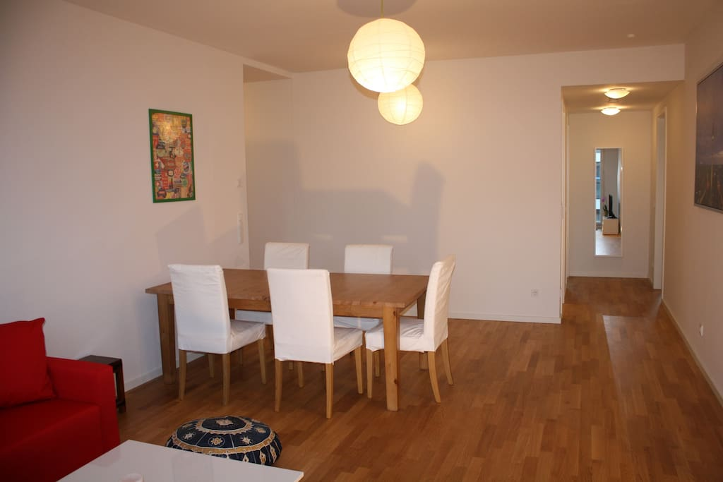 Living Room & big dining table