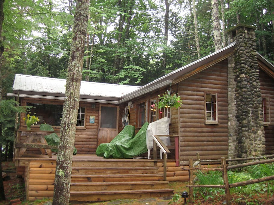 Rustic Family Cabin On China Lake Cabins For Rent In
