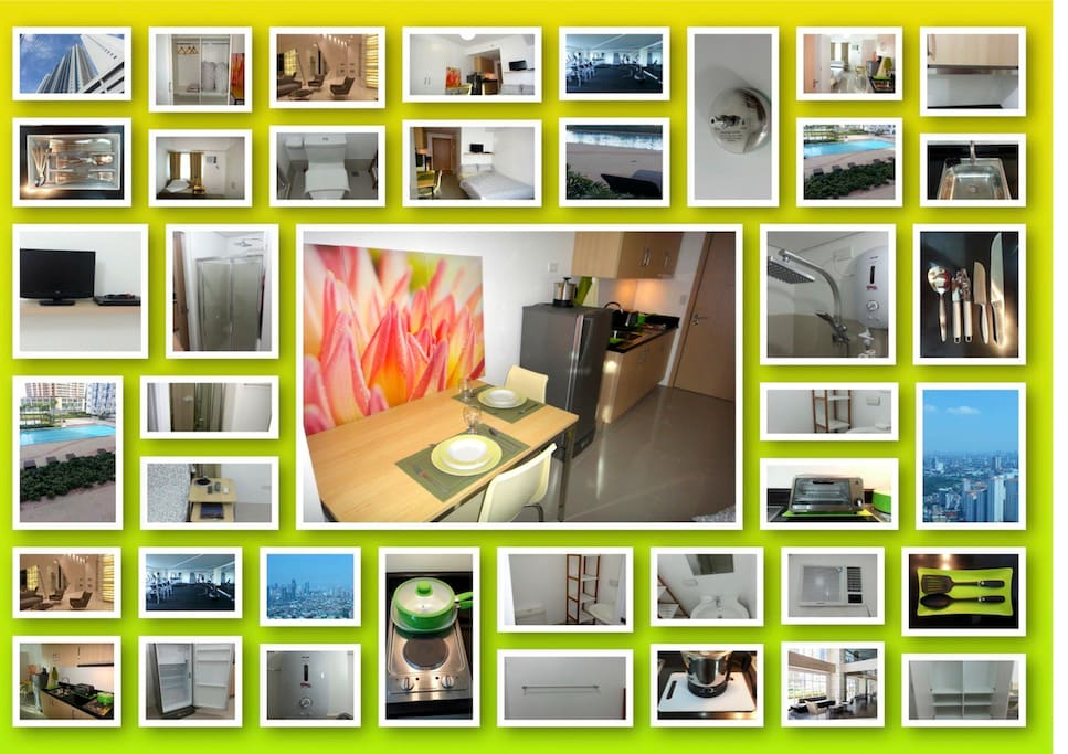 Collage of all photos of our Condo Unit
