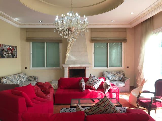 Luxury Villa at Ain-Diab