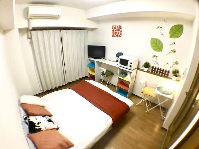 1003 NearOsaka,Namba,Doutonbori+MobileWi-Fi - Nishi-ku, Ōsaka-shi - Apartamento