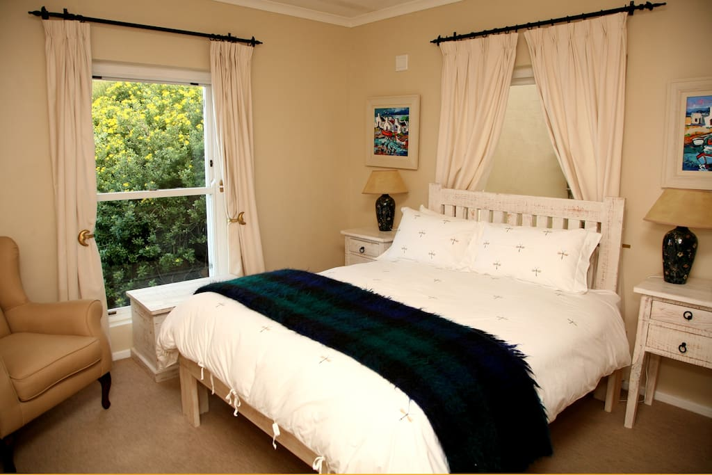 Queen Bedroom with view to Simon's Town