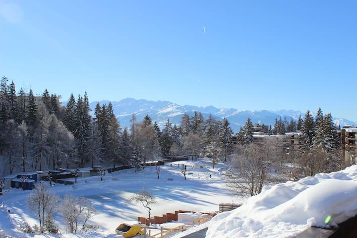 Centre of Crans-Montana - Crans-Montana - Apartamento