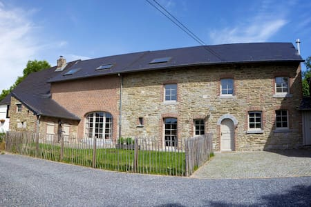 Renovated old farmhouse Durbuy 16p - Somme-Leuze