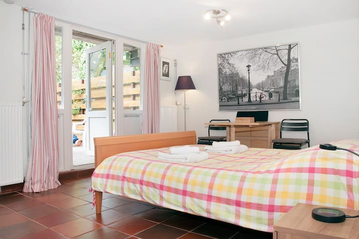 Charming Private Studio Westerpark - Amsterdam - Byt