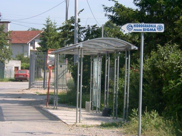 30 meters far Bus stration