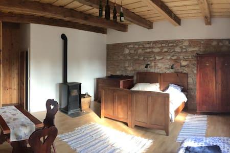 Tágas szoba felújított parasztház/1 - Zirc