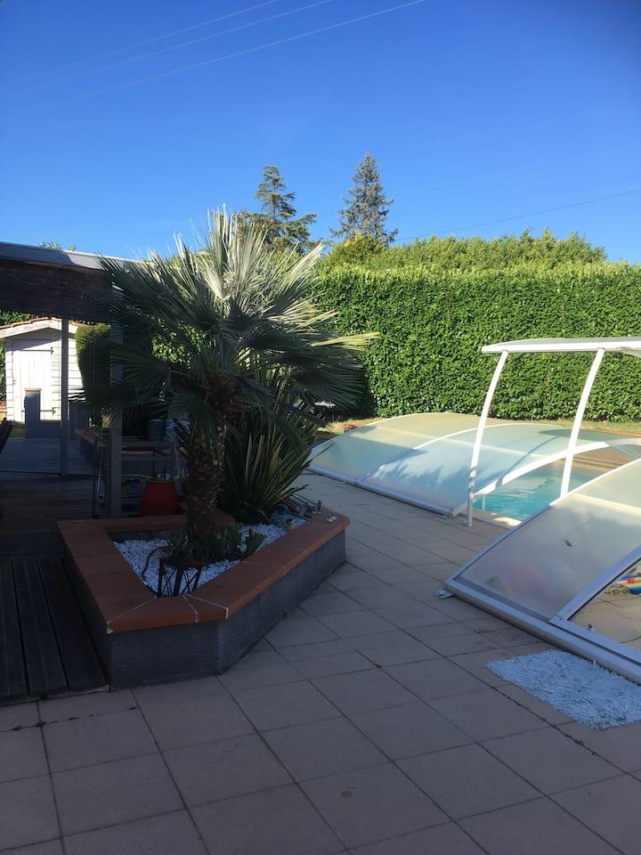 Villa 160m2 Piscine Georges Brassens