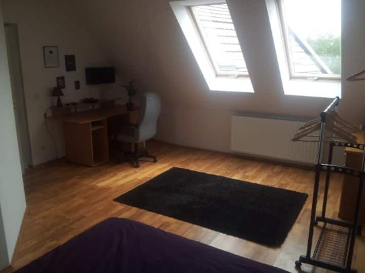 Very close in Szeged - for 2 Person with own bath