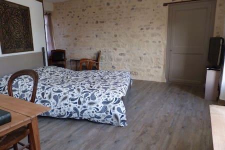 Chambre avec SdB, entrée privative - Parmain