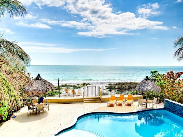 Sugar Sands Beachfront Oasis   On the Beach with Brand New Pool 2443