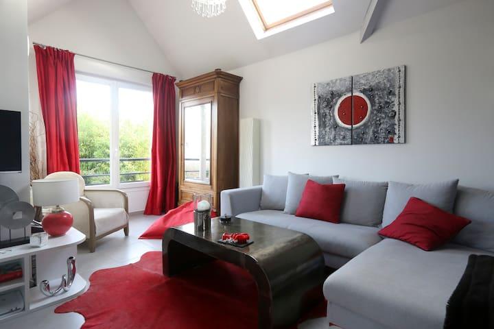 Beau deux pièces proche de Paris - Herblay - Apartamento