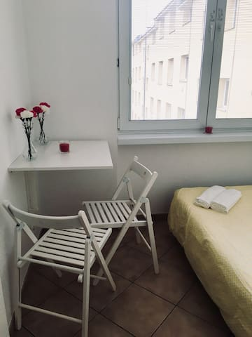 Simple room in the heart ❤️ of the city center