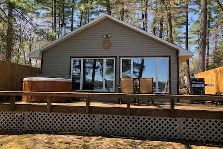 Serenity Beach Haus on Otsego Lake w/Hot Tub Beach