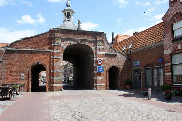 Mooi en rustig gelegen appartement - Aardenburg - Apartment