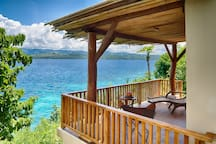 Bedroom 5: Private Balcony with nature.